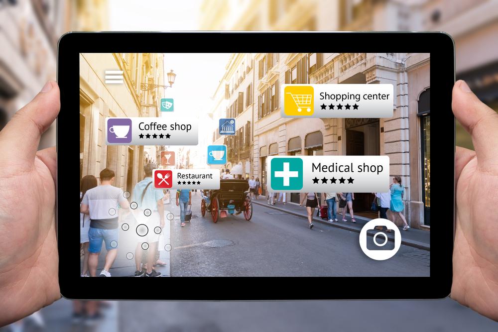 realidad aumentada virtual