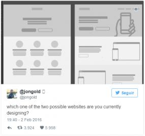 diseño web tweet viral